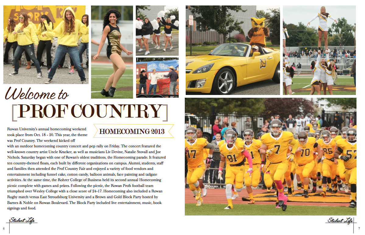 homecoming yearbook spreads Car Tuning